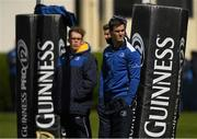 2 May 2016; Leinster's Jonathan Sexton during squad training at the RDS, Ballsbridge, Dublin. Picture credit: Stephen McCarthy / SPORTSFILE