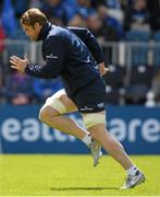 2 May 2016; Leinster's Jamie Heaslip in action during squad training at the RDS, Ballsbridge, Dublin. Picture credit: Stephen McCarthy / SPORTSFILE