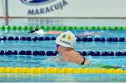 2 May 2016; Nicole Turner, age 13, Co. Laois, competing in the 200m Individual Medley SM6 Final. IPC European Open Swim Championships. Funchal, Portugal. Picture credit: Carlos Rodrigues / SPORTSFILE