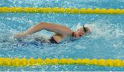 2 May 2016; Ailbhe Kelly, age 17, from Castleknock, Dublin, competing in the Women's 400m Freestyle S9 final. IPC European Open Swim Championships. Funchal, Portugal. Picture credit: Carlos Rodrigues / SPORTSFILE