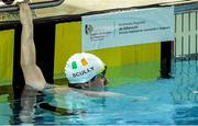 3 May 2016; Ireland's James Scully, Ratoath, Co. Meath, after competing in the Men's 200m Freestyle S5. IPC European Open Swim Championships. Funchal, Portugal. Picture credit: Carlos Rodrigues / SPORTSFILE