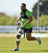 3 May 2016; Connacht's Bundee Aki in action during squad training. Connacht Rugby Squad Training. Sportsground, Galway. Picture credit: David Maher / SPORTSFILE