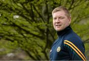 9 May 2016; In attendance at the launch of the 2016 Leinster GAA Senior Championships is Offaly footballer Alan Mulhall. Pearse Museum, Rathfarnham, Dublin. Picture credit: Sam Barnes / SPORTSFILE