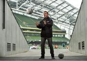 11 May 2016; SPAR FAI Primary School 5s Programme ambassador and former Republic of Ireland International Jason McAteer was at the AVIVA Stadium to watch the SPAR FAI Primary School 5s National Finals where 192 girls and boys from 24 schools battled it out for national honours. The 2016 SPAR FAI Primary School 5s Programme was the biggest yet as almost 24,000 children from 1,267 schools took part in county, regional and provincial blitzes nationwide. For further information please see www.spar.ie or www.faischools.ie. Aviva Stadium, Dublin. Picture credit: Matt Browne / SPORTSFILE
