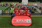 11 May 2016; The Thomastown NS, Tipperary, squad. SPAR FAI Primary School 5s National Finals, Aviva Stadium, Dublin. Picture credit: Piaras Ó Mídheach / SPORTSFILE