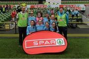 11 May 2016; The Ardnagrath NS, Athlone, Westmeath, squad. SPAR FAI Primary School 5s National Finals, Aviva Stadium, Dublin. Picture credit: Piaras Ó Mídheach / SPORTSFILE