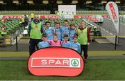 11 May 2016; The Dunboyne SPS, Meath, squad. SPAR FAI Primary School 5s National Finals, Aviva Stadium, Dublin. Picture credit: Piaras Ó Mídheach / SPORTSFILE