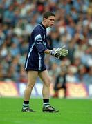 17 June 2001; Stephen Cluxton, Dublin, goalkeeper. Football. Picture credit; Aoife Rice / SPORTSFILE