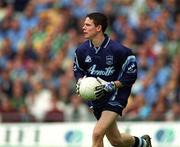17 June 2001; Stephen Cluxton, Dublin goalkeeper. Football. Picture credit; Ray Lohan / SPORTSFILE