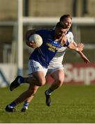 14 May 2016; Darren Hayden of Wicklow in action against Paul Cahillane of Laois during the Leinster GAA Football Senior Championship, Round 1, Laois v Wicklow in O'Moore Park, Portlaoise, Co. Laois. Photo by Piaras O Midheach/Sportsfile