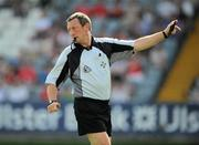 23 May 2010; Pat Fox, referee. Leinster GAA Football Senior Championship Preliminary Round, Louth v Longford, O'Moore Park, Portlaoise, Co. Laois. Picture credit: Brian Lawless / SPORTSFILE