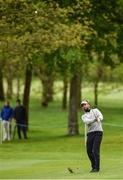 19 May 2016; Joost Luiten of Holland pitches onto the 4th green during day one of the Dubai Duty Free Irish Open Golf Championship at The K Club in Straffan, Co. Kildare. Photo by Matt Browne/Sportsfile