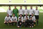 14 May 2016; The Letterkenny Rovers team. FAI Intermediate Cup Final, Crumlin United v Letterkenny Rovers. Aviva Stadium, Dublin. Photo by Ramsey Cardy/Sportsfile