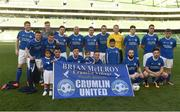 14 May 2016; The Crumlin United team. FAI Intermediate Cup Final, Crumlin United v Letterkenny Rovers. Aviva Stadium, Dublin. Photo by Ramsey Cardy/Sportsfile