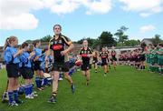 19 June 2010; Kilkenny captain Ann Dalton leads her team out against Cork. Gala All-Ireland Senior Championship, Cork v Kilkenny, Pairc Ui Rinn, Cork. Picture credit: Matt Browne / SPORTSFILE