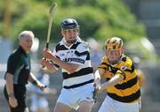 20 June 2010; Richard Doyle, Turloughmore, Galway, in action against Jason Flynn, Na Piarsaigh, Cork. Coca-Cola GAA Féile na nGael Finals 2010, Division 1 Hurling Final. Cusack Park, Ennis, Co. Clare. Picture credit: Diarmuid Greene / SPORTSFILE