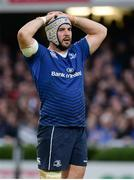 20 May 2016; Mick Kearney of Leinster during the Guinness PRO12 Play-off match between Leinster and Ulster at the RDS Arena in Dublin. Photo by Seb Daly/Sportsfile