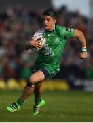 21 May 2016; Tiernan O'Halloran of Connacht during the Guinness PRO12 Play-off match between Connacht and Glasgow Warriors at the Sportsground in Galway. Photo by Stephen McCarthy/Sportsfile