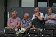 4 June 2016; Former Kilkenny All-Ireland winners, left to right, Nickey Brennan, Fan Larkin, and Pat Henderson, back row, DJ Carey, and Kilkenny county board Chairman Ned Quinn at the British Junior Football Championship between Kilkenny and London in Nowlan Park, Kilkenny. Photo by Ray McManus/Sportsfile