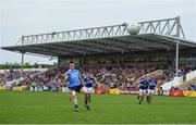 4 June 2016; Diarmuid Connolly of Dublin watches the ball after Laois goalkeeper Graham Brody, not pictured, saved his penalty during the Leinster GAA Football Senior Championship Quarter-Final match between Laois and Dublin in Nowlan Park, Kilkenny. Photo by Stephen McCarthy/Sportsfile
