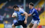 4 June 2016; Kevin McManamon of Dublin in action against Paul Cahillane of Laois in the Leinster GAA Football Senior Championship Quarter-Final match between Laois and Dublin in Nowlan Park, Kilkenny. Picture credit: Dáire Brennan / SPORTSFILE