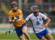 5 June 2016; Tony Kelly of Clare in action against Darragh Fives of Waterford during the Munster GAA Hurling Senior Championship Semi-Final match between Waterford and Clare at Semple Stadium in Thurles, Co. Tipperary. Photo by Ray McManus/Sportsfile