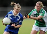 3 July 2010; Aileen Wall, Waterford, in action against Janet Garvey, Limerick. TG4 Ladies Football Munster Intermediate Championship Final, Waterford v Limerick, Castletownroche GAA Grounds, Castletownroche, Co. Cork. Picture credit: Matt Browne / SPORTSFILE
