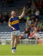 12 June 2016; Kevin O'Halloran of Tipperary celebrates scoring a late free to put his side in the lead during their Munster GAA Football Senior Championship Semi-Final match between Tipperary and Cork at Semple Stadium in Thurles, Co Tipperary. Photo by Piaras Ó Mídheach/Sportsfile