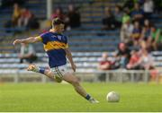 12 June 2016; Kevin O'Halloran of Tipperary scores a late free to put his side in the lead during their Munster GAA Football Senior Championship Semi-Final match between Tipperary and Cork at Semple Stadium in Thurles, Co Tipperary. Photo by Piaras Ó Mídheach/Sportsfile
