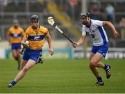 5 June 2016; Tony Kelly of Clare in action against Darragh Fives of Waterford during the Munster GAA Hurling Senior Championship Semi-Final match between Waterford and Clare at Semple Stadium in Thurles, Co. Tipperary.