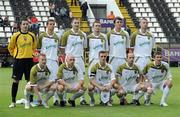 15 July 2010; The Sporting Fingal team. UEFA Europa League Second Qualifying Round - 1st Leg, CS Marítimo v Sporting Fingal, Estádio da Madeira, Funchal, Madeira, Portugal. Picture credit: Helder Santos / SPORTSFILE