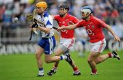 17 July 2010; Eoin Murphy, Waterford, in action against Ben O'Connor, 10, and Kieran Murphy, Cork. Munster GAA Hurling Senior Championship Final Replay, Cork v Waterford, Semple Stadium, Thurles, Co. Tipperary. Picture credit: Ray McManus / SPORTSFILE