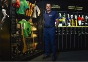 14 June 2016; All-Ireland winning star Michael Duignan of Offaly who was at GAA Headquarters today for the launch of this year's Bord Gáis Energy Legends Tour Series. The duo are among an array of GAA greats who will host tours of Croke Park as part of the 2016 Legends Tour series, an event that offers GAA fans a unique chance to experience the stadium from a player's perspective. For more information about this summers' GAA Legend tours, log on to www.bgeu21.ie. Croke Park, Dublin. Photo by Matt Browne/Sportsfile