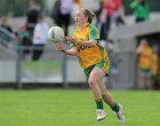 24 July 2010; Niamh McLaughlin, Donegal. Ladies Gaelic Football Minor A Championship All-Ireland Final, Donegal v Galway, Seán O'Heslin GAA Cub, Ballinamore, Co. Leitrim. Picture credit: Brian Lawless / SPORTSFILE