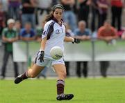 24 July 2010; Lisa Murphy, Galway. Ladies Gaelic Football Minor A Championship All-Ireland Final, Donegal v Galway, Seán O'Heslin GAA Cub, Ballinamore, Co. Leitrim. Picture credit: Brian Lawless / SPORTSFILE