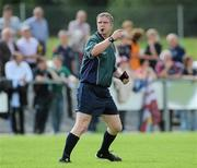 24 July 2010; Des McEnery, referee. Ladies Gaelic Football Minor A Championship All-Ireland Final, Donegal v Galway, Seán O'Heslin GAA Cub, Ballinamore, Co. Leitrim. Picture credit: Brian Lawless / SPORTSFILE