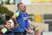 18 June 2016; Laois manager Mick Lillis with selector Anthony Cunningham during the GAA Football All-Ireland Senior Championship Qualifier Round 1A match between Laois and Armagh at O'Moore Park in Portlaoise, Co. Laois. Photo by Matt Browne/Sportsfile