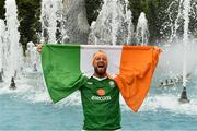 21 June 2016; Republic of Ireland supporter Eden Kane, from Castlemaine, Co Kerry, at UEFA Euro 2016 in Lille, France. Photo by Stephen McCarthy/Sportsfile