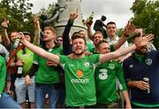 21 June 2016; Republic of Ireland supporters at UEFA Euro 2016 in Lille, France. Photo by Stephen McCarthy/Sportsfile