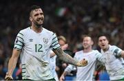 22 June 2016; Shane Duffy of Republic of Ireland at the end of the game during the UEFA Euro 2016 Group E match between Italy and Republic of Ireland at Stade Pierre-Mauroy in Lille, France. Photo by David Maher/Sportsfile