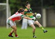 2 August 2010; Sarah Houlihan, Kerry, in action against Leona Ryder, Mayo. TG4 Ladies Football All-Ireland Senior Championship Qualifier, Kerry v Mayo, St Rynagh's, Banagher, Co. Offaly. Picture credit: Paul Mohan / SPORTSFILE