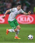 22 June 2016; Stephen Ward of Republic of Ireland during the UEFA Euro 2016 Group E match between Italy and Republic of Ireland at Stade Pierre-Mauroy in Lille, France. Photo by Stephen McCarthy/Sportsfile