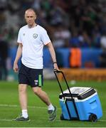 22 June 2016; Republic of Ireland physiotherapist Tony McCarthy during the UEFA Euro 2016 Group E match between Italy and Republic of Ireland at Stade Pierre-Mauroy in Lille, France. Photo by Stephen McCarthy/Sportsfile