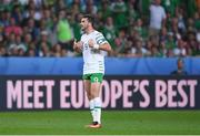 22 June 2016; Shane Long of Republic of Ireland during the UEFA Euro 2016 Group E match between Italy and Republic of Ireland at Stade Pierre-Mauroy in Lille, France. Photo by Stephen McCarthy/Sportsfile