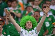 22 June 2016; Republic of Ireland supporters during the UEFA Euro 2016 Group E match between Italy and Republic of Ireland at Stade Pierre-Mauroy in Lille, France. Photo by Stephen McCarthy/Sportsfile