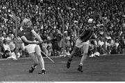 3 September 1978; John Horgan, Cork, in action against Brian Cody, Kilkenny. All-Ireland Hurling Final, Cork v Kilkenny, Croke Park, Dublin. Picture credit: Connolly Collection / SPORTSFILE