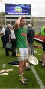 25 June 2016; Meath captain James Toher with the cup after the Christy Ring Cup Final Replay between Antrim and Meath at Croke Park in Dublin. Photo by Piaras Ó Mídheach/Sportsfile