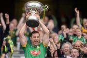 25 June 2016; Meath captain James Toher lifts the cup after the Christy Ring Cup Final Replay between Antrim and Meath at Croke Park in Dublin. Photo by Piaras Ó Mídheach/Sportsfile