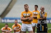 25 June 2016; Niall McKenna of Antrim dejected after the Christy Ring Cup Final Replay between Antrim and Meath at Croke Park in Dublin. Photo by Piaras Ó Mídheach/Sportsfile