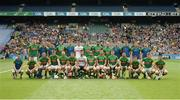 25 June 2016; The Meath squad prior to the Christy Ring Cup Final Replay between Antrim and Meath at Croke Park in Dublin. Photo by Piaras Ó Mídheach/Sportsfile